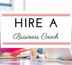 hire a business coach