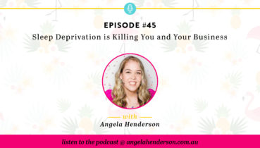 Sleep Deprivation is Killing You and Your Business