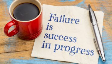 why you need to fail to succeed