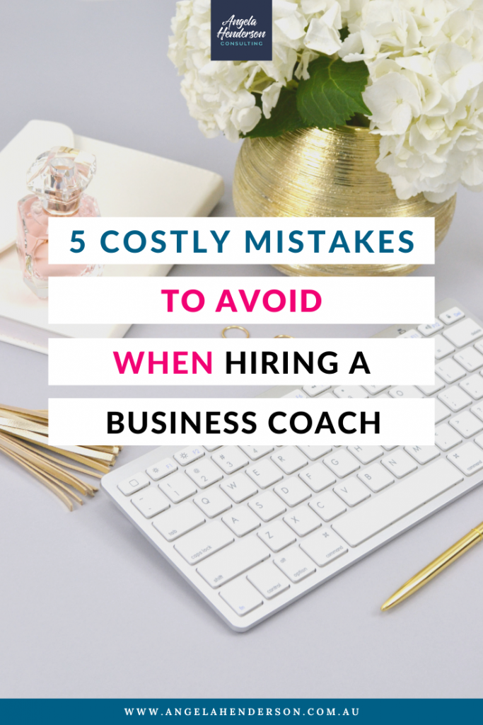 Mistakes to Avoid When Hiring a Business Coach