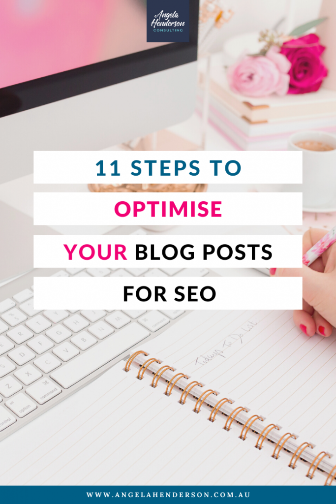 Optimise Your Blog Posts for SEO