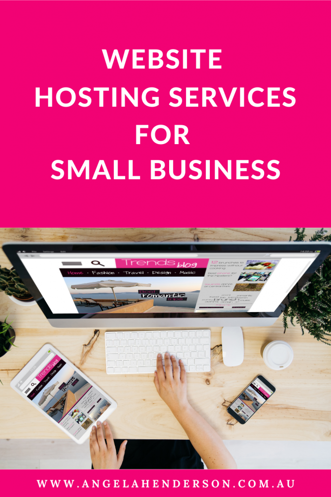 website hosting services for small business