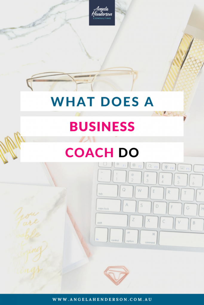 What does a business coach do