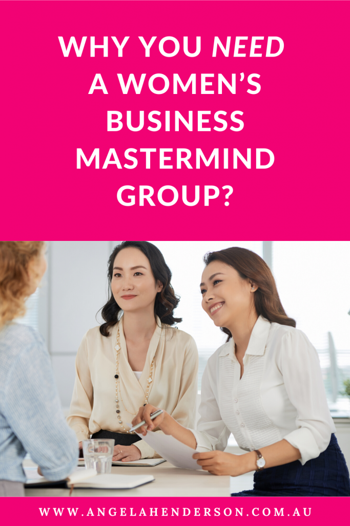 Women's business mastermind group