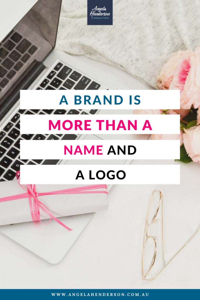 brand is more than a name and logo