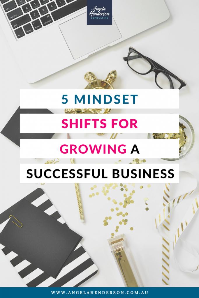 mindset shifts for business