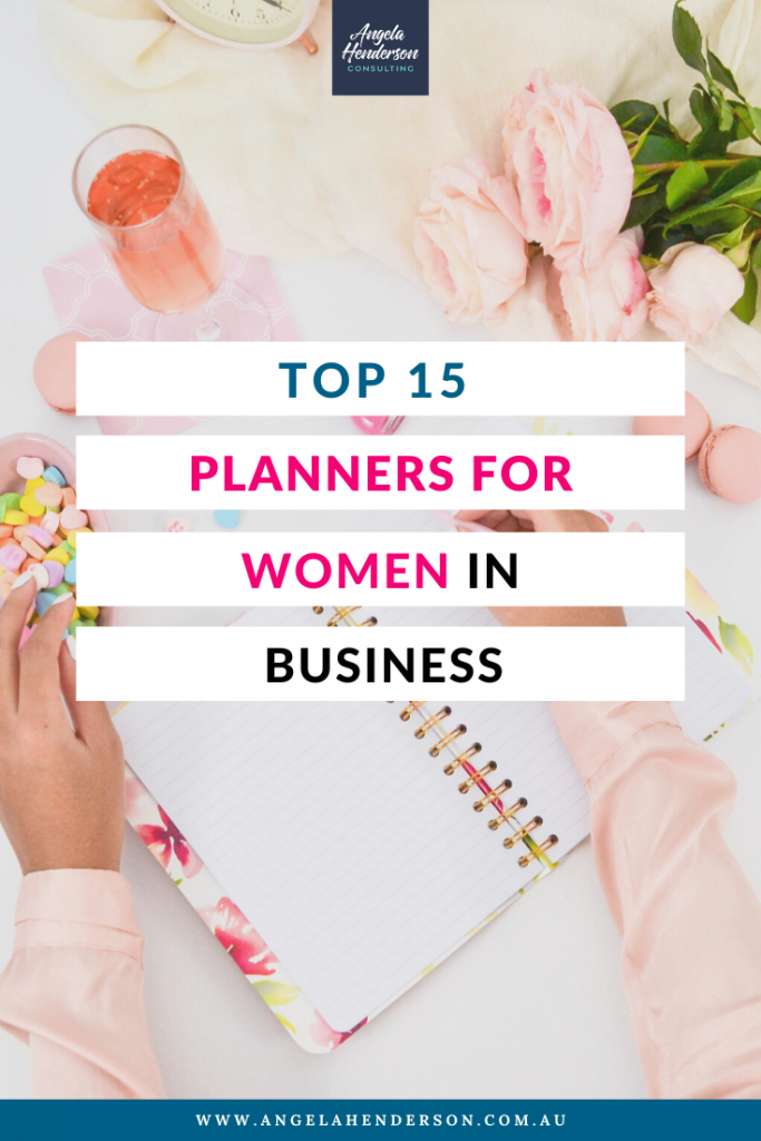 planners for women in business