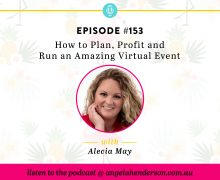 How to Plan, Profit and Run an Amazing Virtual Event