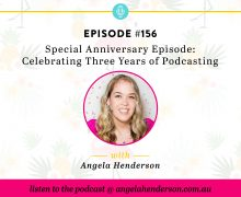 Special Anniversary Episode Celebrating Three Years of Podcasting